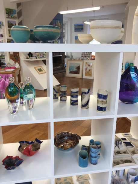 Lots of new ceramics in the gallery