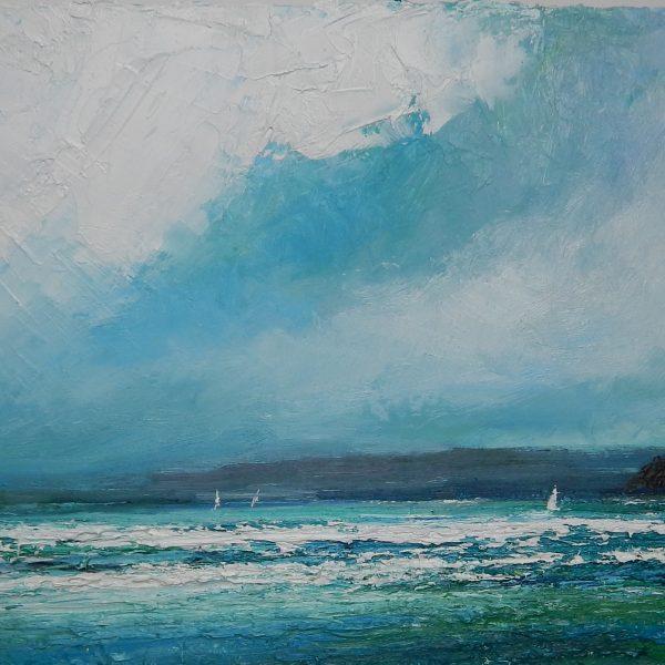 fine days sailing by David Morgan