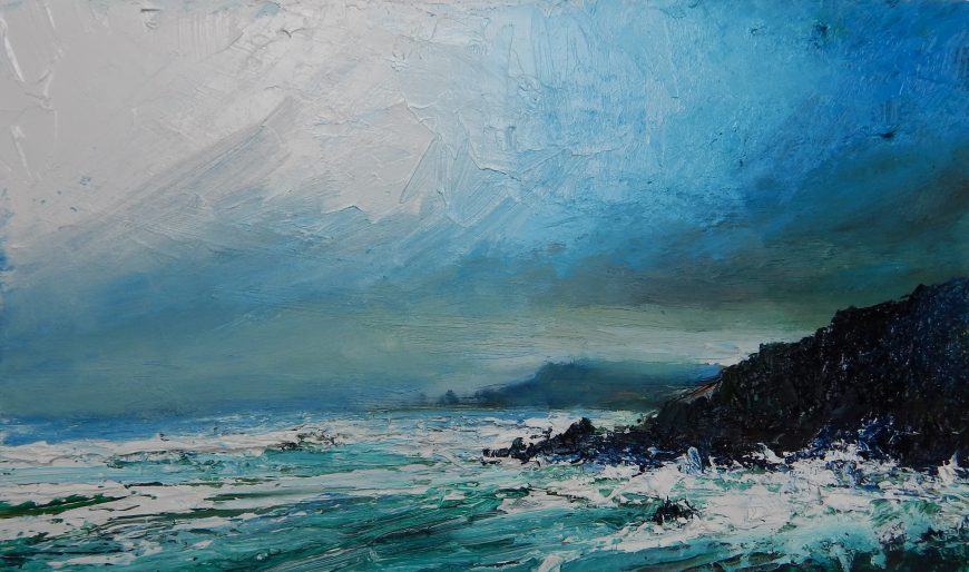 New David Morgan paintings are in the gallery