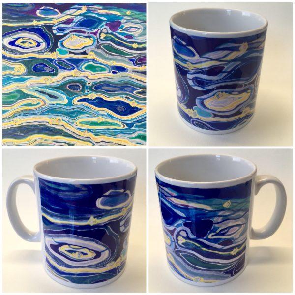 light on water mug