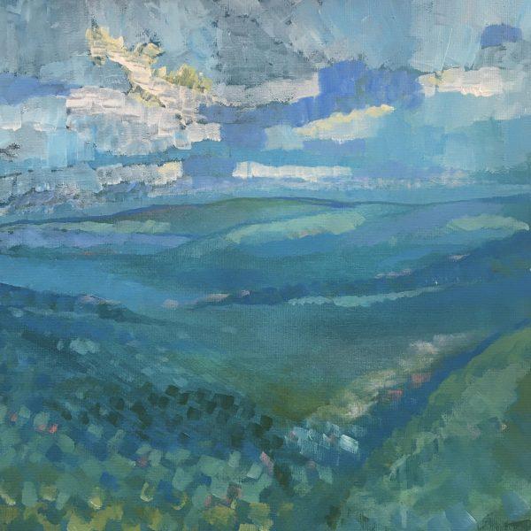 Exmoor in turquoise