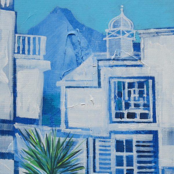 Lanzarote,bluetexture